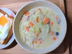 【簡単レシピ】豆乳シチューの作り方。