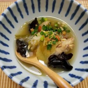 ダイエット中に最適、代謝をあげる簡単薬膳スープを作りました!ー朝ご飯ー
