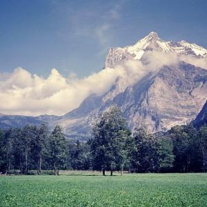 スイスアルプス・トレッキング 1986年