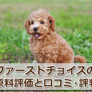 ファーストチョイス(犬用)の原料を評価!【口コミ・評判】