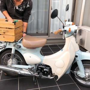 カブに木箱♪(HONDA Little Cub)