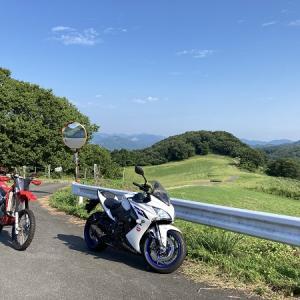 はじめての山登り!プチツーリング♪【GSX-S1000F】