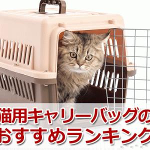 猫用キャリーバッグのおすすめランキング!快適・機能的・おしゃれなキャリーを紹介