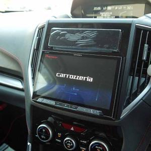 新車フォレスター! 8インチサイバーナビ設置とフルHDMIで高解像度を実現!①
