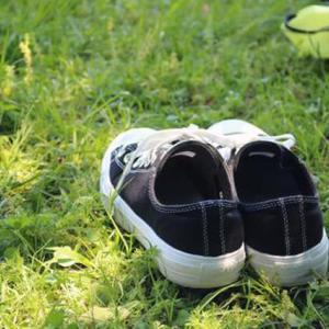 靴はマジックテープ一択