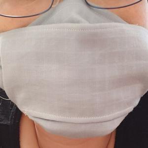 お客様に欲しがられたパパお手製マスク