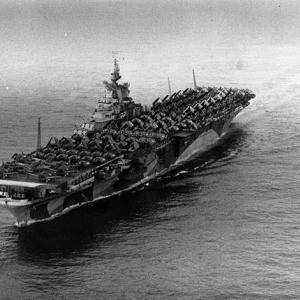 1945年1月21日、特攻機は空母タイコンデロガとラングレーに突入するも撃沈に至らず!!の巻