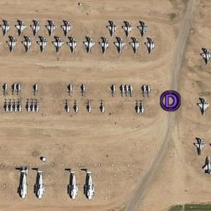 Google Earthでアリゾナ州を散策中、すごい数の米軍機を発見したんやけど…の巻 其之参