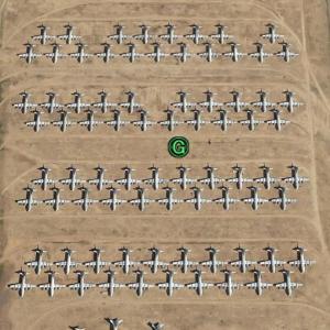 Google Earthでアリゾナ州を散策中、すごい数の米軍機を発見したんやけど…の巻 其之肆