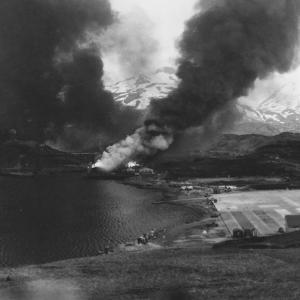 1942年6月12日、キスカ島への空爆が始まったゾ!敵なんか相手にせんとさっさと帰り支度しよう