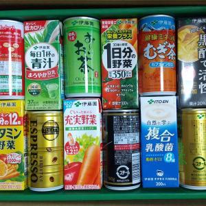 伊藤園から株主優待 飲料のセット が到着。