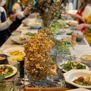 3月28日 発酵料理教室 お教室レポート 旬の春キャベツ&宇宙的酵素玄米発酵腸活