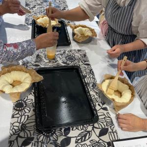 6月5日(土曜日)ホームベーカリーパン教室☆オレンジクリームパン