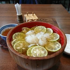 初夏のすだちおろし蕎麦~京都東山の三昧洪庵