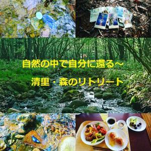 朝の森での瞑想タイム~清里・森のリトリート・2日目その1開催レポ
