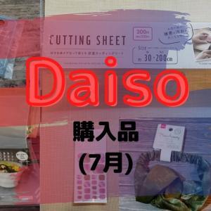 【Daiso】7月の購入品を紹介します!