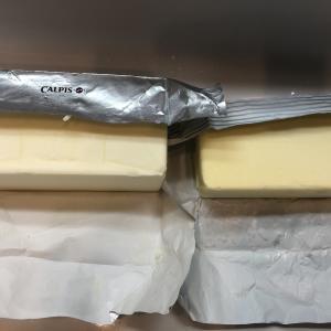 やっとカルピスバターを使った(バター比較3)