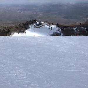 スノーシーズン滑り納め