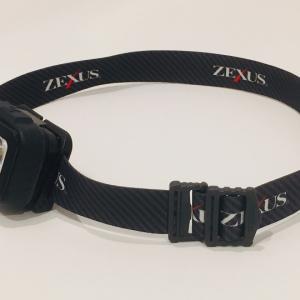 ZEXUSから出ているヘッドライト「ZX-160」の使用感を書いてみる