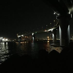 夜のルアー釣りで強制ダイエット
