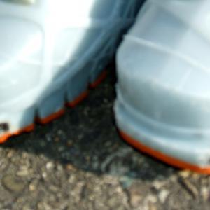TLT兼用靴・金具の雪詰まり対策