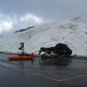 春スキー・鳥海山