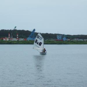 今年初ヨット