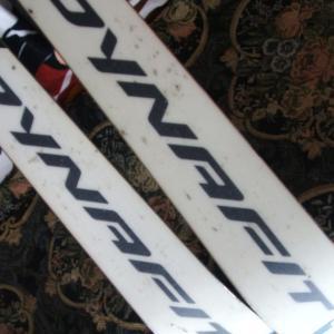 スキー滑走面のメンテ