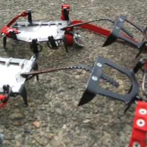 滑落後の道具修理