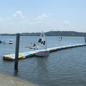 ヨット講習7回目・五輪始まる