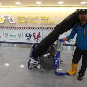 安田氏・アラスカから帰国