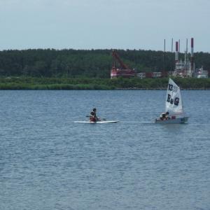 ヨット講習6回目で初操船