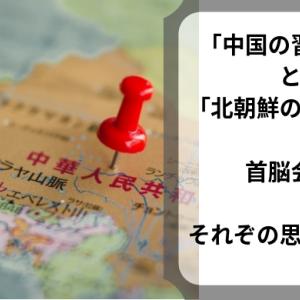「中国の習近平」と「北朝鮮の金正恩」首脳会談~それぞれの思惑とは?~