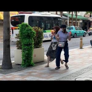 【動画】#1 植物が動き出すドッキリin沖縄 国際通り/bushman prank in japan okinawa