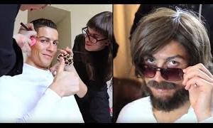 【動画】FULL動画【海外ドッキリ】ホームレスかと思ったらクリスティアーノ・ロナウドだった!