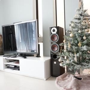 【マイホームで初クリスマス】狭小住宅にクリスマスツリーを置いてみました!