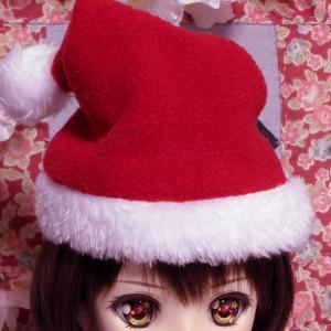 今年のキャンドゥのサンタ帽(猫用)