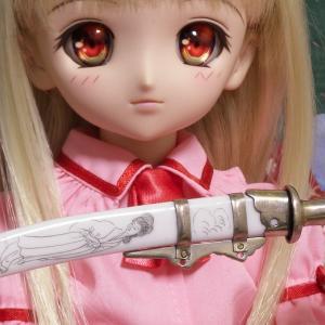 ミニチュア中国刀