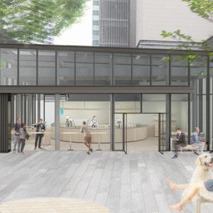 マークイズに「ブルーボトルコーヒー みなとみらいカフェ」誕生!公園を活用した屋外席は横浜美術館の休憩にもおすすめ?
