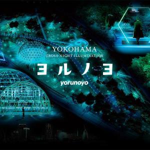 横浜みなとみらいで都市型イルミネーション「ヨルノヨ」が2020年11月20日から開催