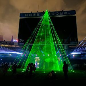 最高だった、グラウンドに入れる横浜スタジアムのイルミネーション「ボールパークファンタジア」体験レポ