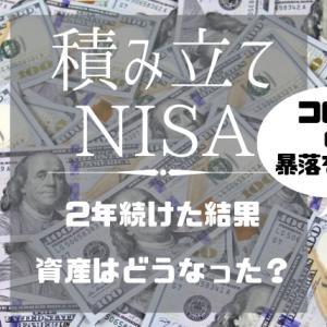 【積み立てNISA2年間の実績公開】子育て中でも続けられる投資として積み立てNISAはいいぞ