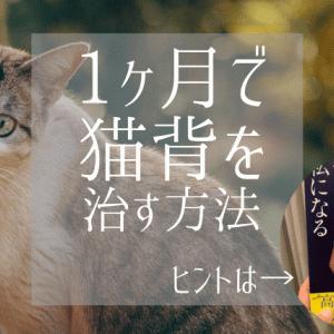 授乳や抱っこで悪化した猫背が1ヶ月で改善!〇〇〇さんの本を参考にしたら猫背が治ったストレッチ【写真付き】