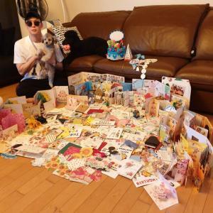 ユチョン帰宅から2日目 ~birthdayサジンを深読み~