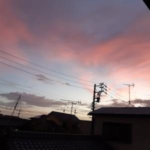 練習日 9月7日 台風