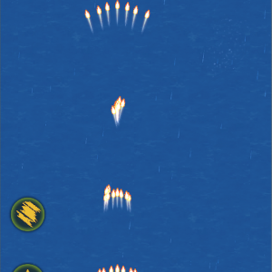 僕はね、なつかしの飛行機ゲームをやってみたんだ。