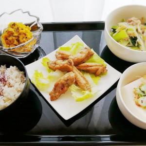 ごはん日記 | 豚小松菜もやし旨酢炒め*カタカナコロナ