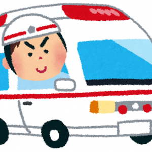 緊急車両と言えば、ピーポー&ウーウーですが