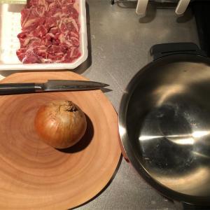 牛丼をホットクックで作るレシピ【KN-HT99A】