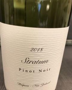 Stratum Pinot Noir 2018